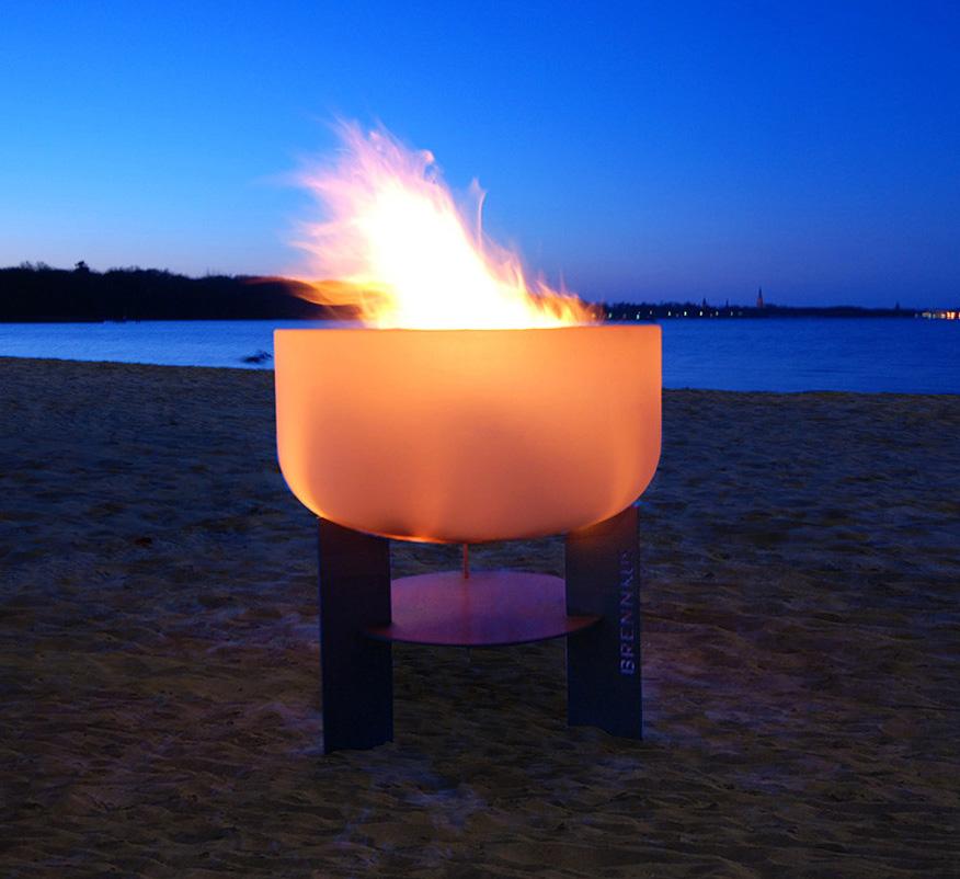 gartenkamine flammenspiel. Black Bedroom Furniture Sets. Home Design Ideas
